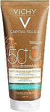 Parfüm, Parfüméria, kozmetikum Napvédő hidratáló tej arcra és testre - Vichy Capital Soleil Solar Eco-Designed Milk SPF 50+