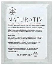 Parfüm, Parfüméria, kozmetikum Nyugtató és hidratáló arcmaszk rizzsel - Naturativ Face Mask