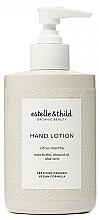 Parfüm, Parfüméria, kozmetikum Kézlotion - Estelle & Thild Citrus Menthe Hand Lotion