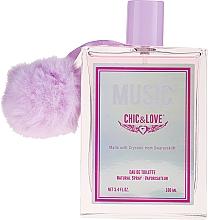 Parfüm, Parfüméria, kozmetikum Chic&Love Music - Eau De Toilette