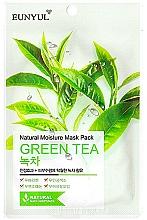 Parfüm, Parfüméria, kozmetikum Hidratáló szövetarcmaszk zöld tea kivonattal - Eunyul Natural Moisture Mask Pack Green Tea