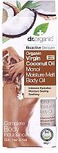 Parfüm, Parfüméria, kozmetikum Kókuszos testolaj - Dr.Organic Virgin Coconut Oil Moisture Melt Body Oil