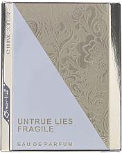 Parfüm, Parfüméria, kozmetikum Omerta Untrue Lies Fragile - Eau De Parfum