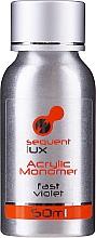 Parfüm, Parfüméria, kozmetikum Folyadék akrilhoz - Silcare Sequent Lux Acrylic Monomer Fast Violet