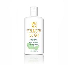 Parfüm, Parfüméria, kozmetikum Testtej - Yellow Rose Herbal Body Milk