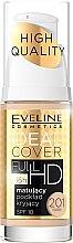Parfüm, Parfüméria, kozmetikum Mattító alapozó - Eveline Cosmetics Ideal Cover Full HD SPF10