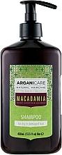Parfüm, Parfüméria, kozmetikum Sampon száraz és sérült hajra - Arganicare Macadamia Shampoo