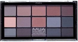 Parfüm, Parfüméria, kozmetikum Szemhéjfesték paletta - MUA 15 Shade Eyeshadow Palette
