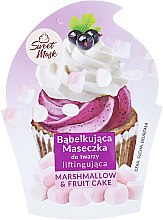 Parfüm, Parfüméria, kozmetikum Feszesítő arcmaszk - Marion Sweet Mask Marshmallow & Fruit Cake