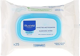 "Parfüm, Parfüméria, kozmetikum Nedves törlőkendő arcra ""Travel Pack"" - Mustela Facial Cleansing Wipes"