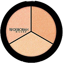 "Parfüm, Parfüméria, kozmetikum Highlighter arcra ""Trio"" - Deborah Highlighter Trio Palette"