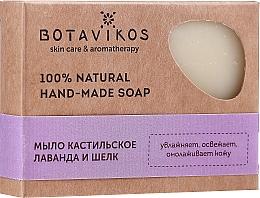 """Parfüm, Parfüméria, kozmetikum Kézzel készült természetes kasztíliai szappan """"Levendula és selyem"""" - Botavikos Hand-Made Soap"""