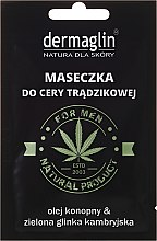 Parfüm, Parfüméria, kozmetikum Arcmaszk - Dermaglin For Men Natural Product
