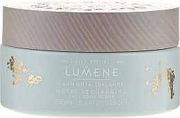Parfüm, Parfüméria, kozmetikum Regeneráló sós bőrradír - Lumene Harmonia Nutri-Recharging Salt Body Scrub