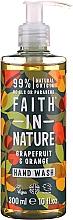 Parfüm, Parfüméria, kozmetikum Folyékony szappan grapefruittal és naranccsal - Faith in Nature Grapefruit & Orange Hand Wash