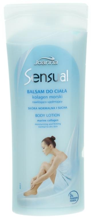 Testápoló balzsam Tengeri kollagén - Joanna Sensual Marine Collagen Balsam