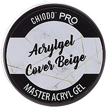 Parfüm, Parfüméria, kozmetikum Műkörömépítő zselé - Chiodo Pro Acryl Gel Cover Beige