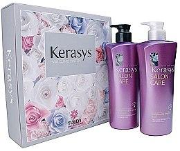 Parfüm, Parfüméria, kozmetikum Szett - Kerasys Salon Care Straightening Ampoule (shmp/470ml + h/cond/470ml)