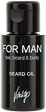 Parfüm, Parfüméria, kozmetikum Szakállolaj - Vitality's For Man Beard Oil
