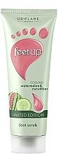 Parfüm, Parfüméria, kozmetikum Hűsítő lábradír dinnyével és uborkával - Oriflame Feet Up Scrub