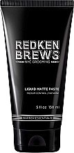 Parfüm, Parfüméria, kozmetikum Modellező hajpaszta - Redken Brews Liquid Matte Paste