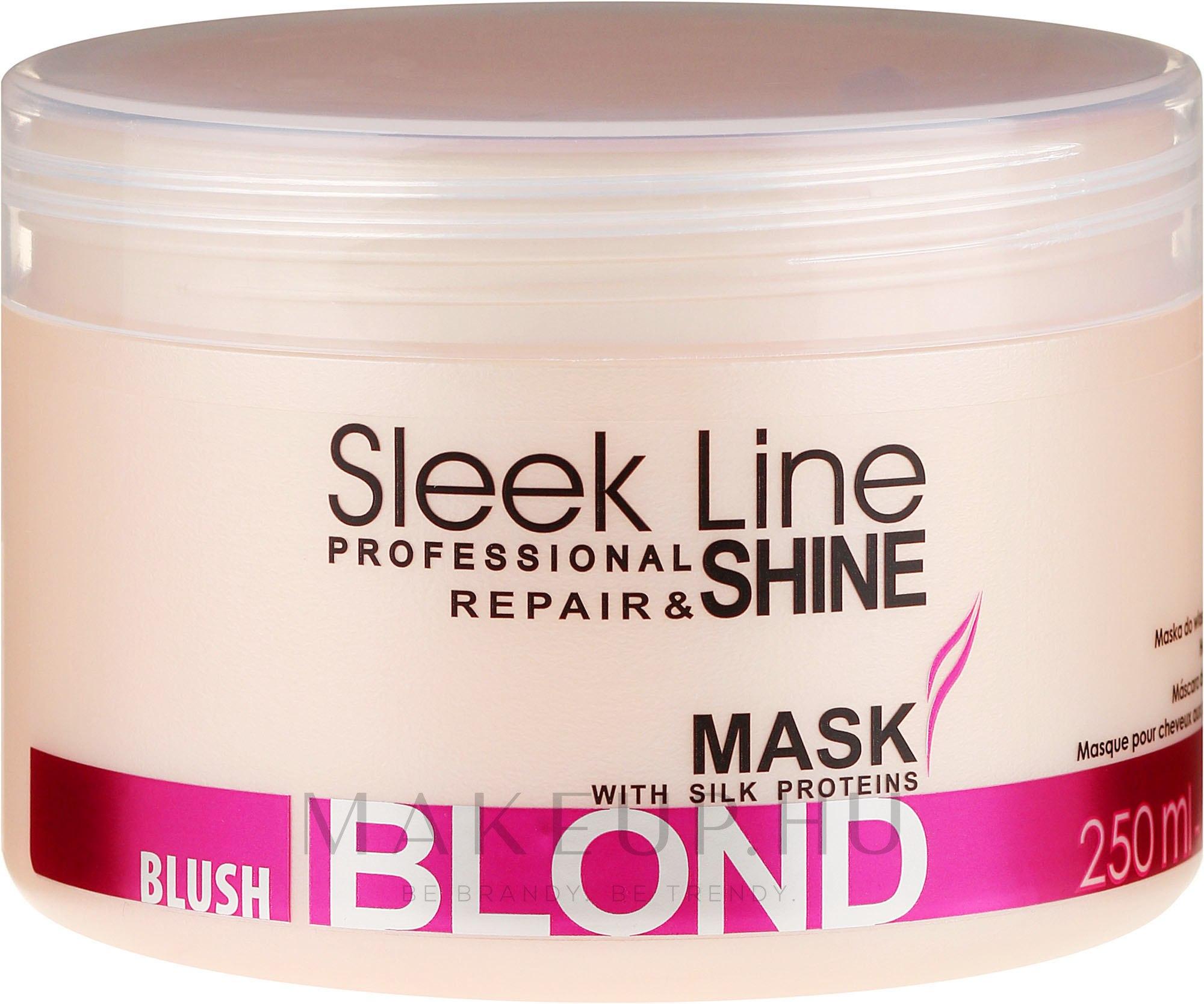 Hajmaszk - Stapiz Sleek Line Blush Blond Mask — fotó 250 ml