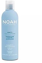 Parfüm, Parfüméria, kozmetikum Tisztító és hidratáló sampon aloe kivonattal és moringa olajjal - Noah Anti Pollution Detox Shampoo