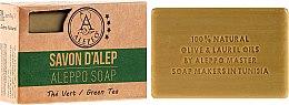 """Parfüm, Parfüméria, kozmetikum Aleppo """"Zöld tea"""" szappan - Alepeo Aleppo Soap Green Tea 8%"""