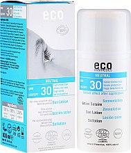 Parfüm, Parfüméria, kozmetikum Napvédő testápoló, illatmentes - Eco Cosmetics Sun Lotion SPF 30