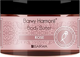"Parfüm, Parfüméria, kozmetikum ""Rózsa"" testápoló olaj - Barwa Harmony Body Butter Rose"