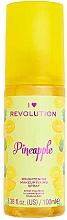 Parfüm, Parfüméria, kozmetikum Sminkfixáló spray - I Heart Revolution Fixing Spray Pineapple