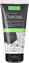 Parfüm, Parfüméria, kozmetikum Arctisztító gél szénnel - Beauty Formulas Charcoal Detox Cleanser