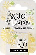"""Parfüm, Parfüméria, kozmetikum Ajakbalzsam """"Vanília"""" - Marilou Bio Certified Organic Lip Balm"""