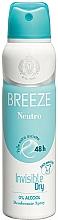 Parfüm, Parfüméria, kozmetikum Breeze Deo Spray Neutro 48h - Testdezodor