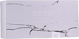 Parfüm, Parfüméria, kozmetikum Ápoló törlőkendők az arc és a test érzékeny bőrére - N-Medical Hyaluron Royal Silver Care Wipes