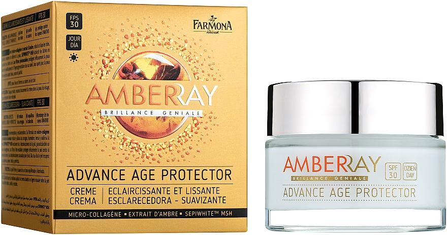 """Fiatalító nappali arckrém """"Borostyán"""" - Farmona Amberray Cream SPF30"""