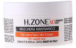 Parfüm, Parfüméria, kozmetikum Maszk göndör hajra - H.Zone Revival Curls Mask