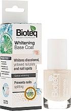 Parfüm, Parfüméria, kozmetikum Fehérítő alapozó körömlakk - Bioteq Whitening Base Coat