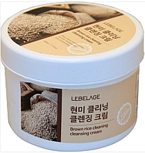 Parfüm, Parfüméria, kozmetikum Tisztító hab barna rízzsel - Lebelage Brown Rice Cleaning Cleansing Cream