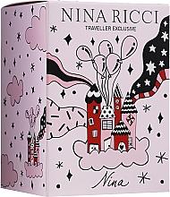 Parfüm, Parfüméria, kozmetikum Nina Ricci Nina - Szett (edt/80ml + edt/roll/10ml)