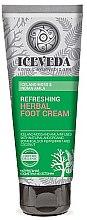 Parfüm, Parfüméria, kozmetikum Lábkrém - Natura Siberica Iceveda Iceland Moss&Indian Amla Reftrsh Herbal Foot Cream