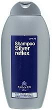 Parfüm, Parfüméria, kozmetikum Hajszínező sampon, ezüst - Kallos Cosmetics Silver Reflex Shampoo
