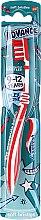 Parfüm, Parfüméria, kozmetikum Gyermek fogkefe, 9-12 éves korig, piros-fehér - Aquafresh Advance Soft
