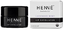 Parfüm, Parfüméria, kozmetikum Hámlasztó ajakra - Henne Organics Lavender Mint Lip Exfoliator