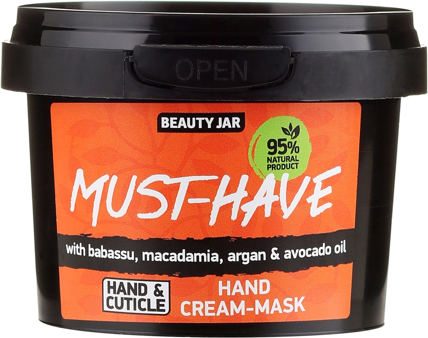 Kézápoló krém-maszk - Beauty Jar Must-Have Hand Cream-Mask