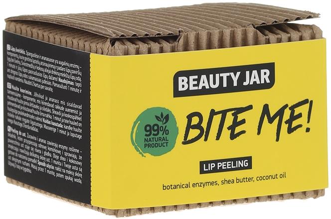 """Ajakradír """"Kókusz vaj és shea vaj"""" - Beauty Jar Bete Me Lip Peeling"""