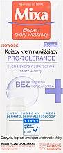 Parfüm, Parfüméria, kozmetikum Nyugtató és hidratáló krém száraz és túlérzékeny bőrre - Mixa Pro-Tolerance Cream