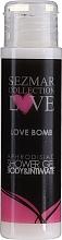 Parfüm, Parfüméria, kozmetikum Tusfürdő - Sezmar Collection Love Love Bomb Aphrodisiac Shower Gel (mini)