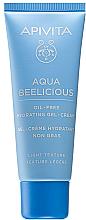 Parfüm, Parfüméria, kozmetikum Könnyű hidratáló krém-gél - Apivita Aqua Beelicious Light Gel-Cream