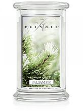 Parfüm, Parfüméria, kozmetikum Illatosított gyertya üvegben - Kringle Candle Balsam Fir
